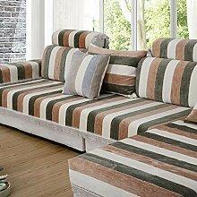 Gestreiften sofa vinyl beschützer,Baumwolle