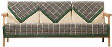 Gestreifter baumwolle schonbezug sofa,Einfaches