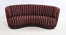Gestreiftes Vintage Sofa