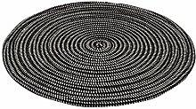 Gestrickt mit Einem Seil runden Teppich Wohnzimmer