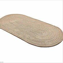 Gestrickte Mit Einem Seil Runde Teppich Wohnzimmer