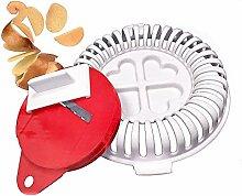 Gesunde Mikrowelle Kartoffelchip-Maker – (kein