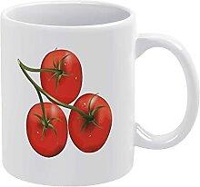 Gesundheitsgeschenk Weiße Tasse Porzellan Tassen