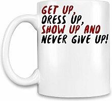 Get Up Dress Up Kaffee Becher