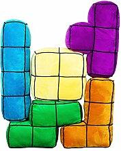 getDigital Arcade Block Kissen 5er Set | 5 große,