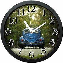 GeTJonesRiGhT Vintage Retro Auto Uhr Große 25,4