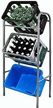 Getränkekistenregal Flaschenkastenregal für 3