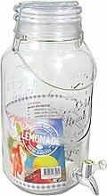 Getränkespender Bowlegefäß Rumtopf, ca. 3.8 l,
