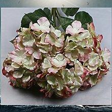 Getrocknete Blumen High-End-Simulation Emulation Dekorative Ornamente Heimtextilien Künstliche Blumen, Hellblau