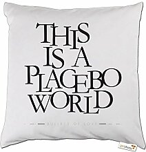 getshirts - Bahar // Online Shop - Kissen - 06 - Placebo - weiss uni