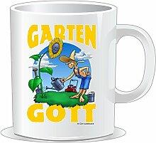 getshirts - RAHMENLOS® Geschenke - Tasse - Heimwerker - Garten Gott - uni uni