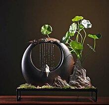 GETSO 110V-220V-chinesische Art Zen-Wasser-Brunnen