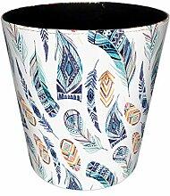 Gettesy Vintage Papierkorb Wasserdicht Europäisch