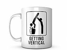 Getting Vertical Drink Cool Beer Motivation