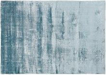 Getufter Teppich, blau 160x230