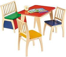 Geuther Kindersitzgruppe Bambino Bunt, Multicolor,