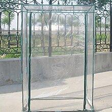 Gewächshaus PVC Pflanze, Tomaten Garten Zelt (nicht inklusive, eisen Rack)