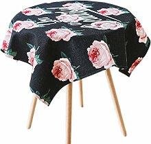 Gewebe aus Baumwolle, Leinen Tischdecke Tisch