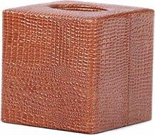 Gewebekasten Pumpfach Tissue Box Square Glossy