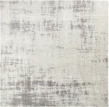Gewebter Jacquard-Teppich in Grau 200x200