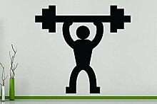 Gewichteheben - Fitness-Studio Fit Halten