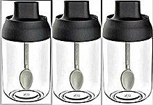 Gewürzbehälter Behälter Gewürzdose Set 3