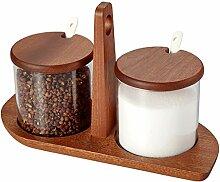 Gewürzbox Gewürzbox Glas Küche Gewürzglas