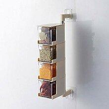 Gewürzdose für die Küche zur Wandmontage mit