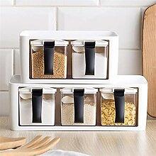 Gewürzdosen Mit Griff und Löffel Küche Storage