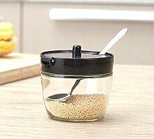 Gewürzgläser Gewürzbox Küche Glas