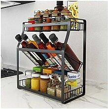 Gewürzregal 3-Schicht-Küche Organizer, Compact