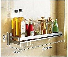 Gewürzregal Edelstahl Küchen Organizer, Compact