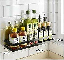 Gewürzregal Einlagige Spice Rack-Halter Griffige