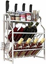 Gewürzregal Küchenregal Paket Veranstalter