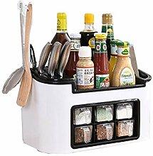 Gewürzregal PP Kunststoff Kitchen Organizer,