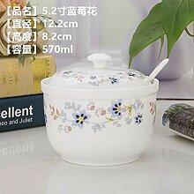 gewürzständer küchenregal Keramik Gewürzglas