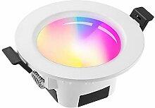 GEYUEYA Home LED-Einbaustrahler, 9 W, dimmbar,