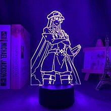 GEZHF Anime Figure Lampe 3D AKAME GA Töten Sie