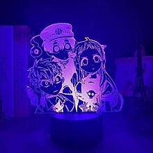 GEZHF Anime Figure Lampe Mangas Toilette gebunden