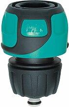 GF 80263060Schnellkupplung Soft Touch Aqua Stop Schlauch Ø 12bis 15mm–blau