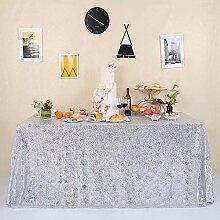 GFCC Glitzer Pailletten-Tischdecke Sparkly Party