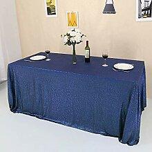 GFCC Pailletten-Tischdecke, glitzernd, für