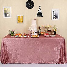 GFCC Party Hochzeit Pailletten Tischdecke für