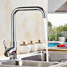 GFEI badezimmer mit heißen und kalten wasserhahn, küchenarmatur wasserhahn / brass hauptteil waschbecken, drehbaren dish - becken, single - loch