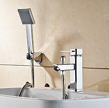 GFEI kupfer einzigen loch hahn / dusche mit heißem und kaltem wasser im waschbecken mit wasserhahn,b