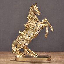 GFEI pferd zubehör zu hause dekoration / wohnzimmer wein im kabinett kreative einrichtungsgegenstände / dekorative handwerk geschenke 28x14x37cm,c