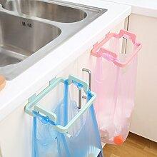 GFEI unterstützung / müllsack inhaber _ wieder art tragbare haushalts müllsack tuch kleiderbügel,beige
