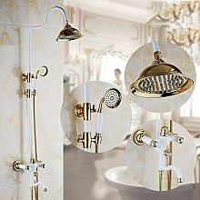 GFF Dusche Kupferduschthermostat Dusche Duschset