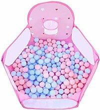 GFF Tragbare Baby-Laufgitter Spielzaun Bällebad