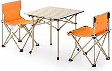GFF Tragbare Klappstühle und Tischset, Outdoor